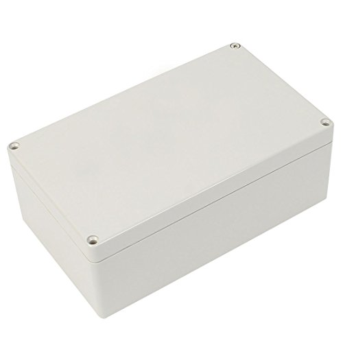 Hellgrau ABS imprägniern Surface Mounted Junction Box 200x120x75mm Surface Mounted Box