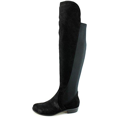 Corso Como Stonybrook Femmes Daim Botte Black-Black