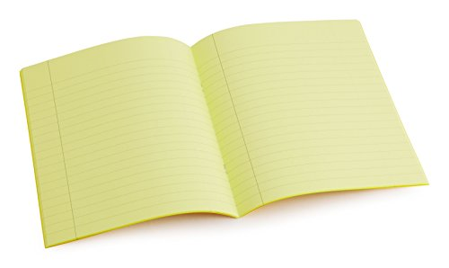dyslexia-tinted-exercise-books-9-x-7-10mm-lined-with-margin-yellow-10-pack