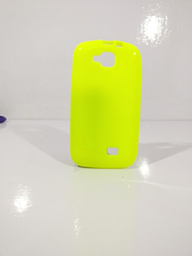 iCandy™ Colorfull Thin Soft TPU Back Cover For Micromax Canvas Fun A63 - Parrot  available at amazon for Rs.109