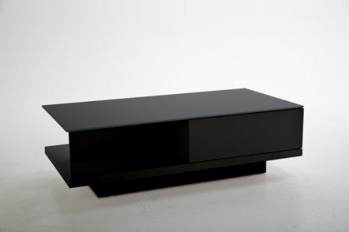 ABC Home Scandinavian Style Coffee Table, Black