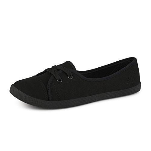 best-boots Ballerine Sneakers Sneaker scarpe da ginnastica Textil Schwarz