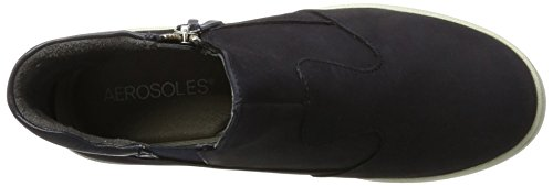 Aerosoles Ship Advisor Mix Nubuck, Bottes Chelsea Femme Bleu (Navy)
