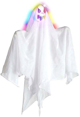 Inception Pro Infinite Karnevals-Haus-Dekoration - Halloween - Heller Geist Ändern Sie Farbe - weiße Farbe (Halloween-außen-dekoration Günstige Ideen)