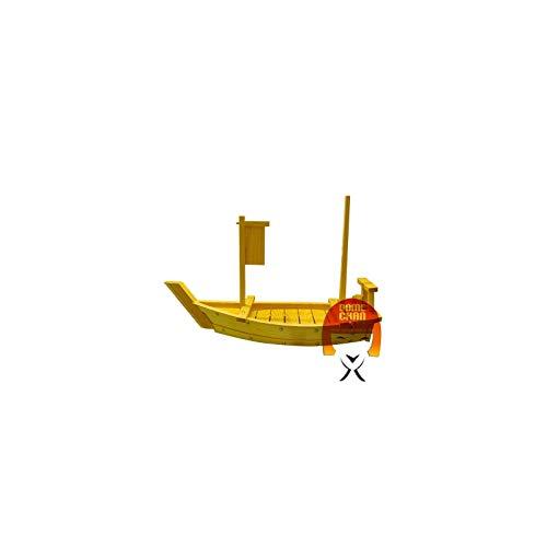 Barca in legno per sushi e sashimi - 60 cm