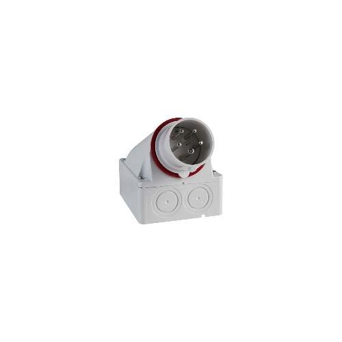 Schneider Electric 83509Plug Wandhalterung 16A 3p-n e 380–415V IP44, weiß