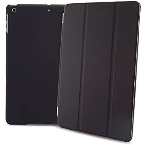 MAXAH® funda iPad Air 1 Smart Cover Cubierta elegante ultra delgada para el iPad Air 1 carcasa(Negro separables)