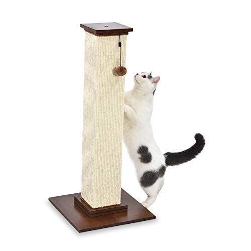 AmazonBasics - Poste rascador gatos primera calidad