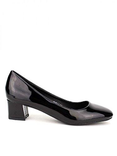 Cendriyon, Escarpin verni Noir CINK Chaussures Femme Noir