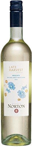 Late Harvest Moscato Natural Sweet 2017 - Norton | süßer Weißwein | argentinischer Sommerwein aus Mendoza | 1 x 0,75 Liter