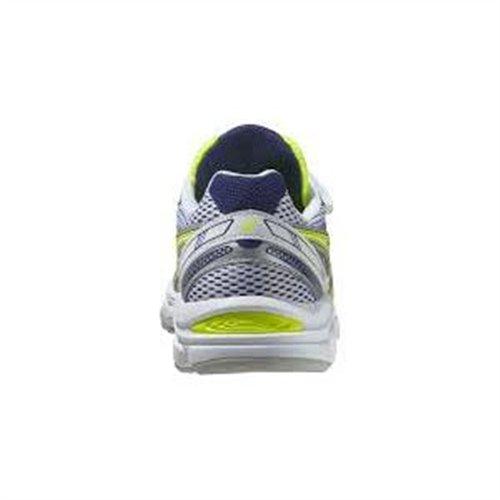 Asics  Running Pre Galaxy 7 Ps,  Unisex-Kinder Joggingschuhe Bianco/Giallo/Blu/Argento