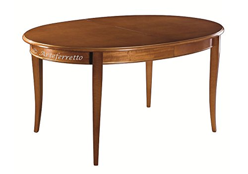 Arteferretto Table Ovale 160 cm à rallonge