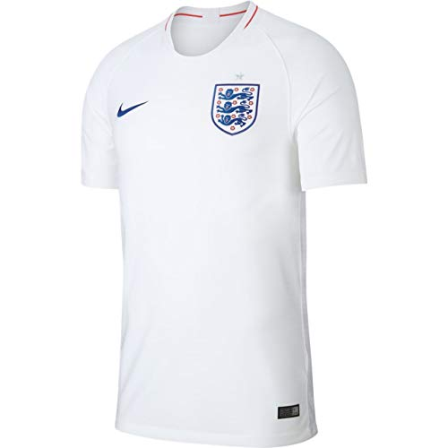 Nike Herren England Stadium Jersey Trikot, White/Sport royal, XL -