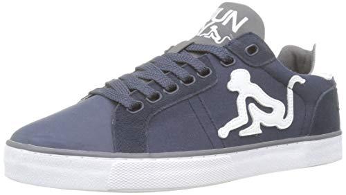 DrunknMunky New England Sneaker Uomo, Blu (Navy/Gray 035) 42 EU