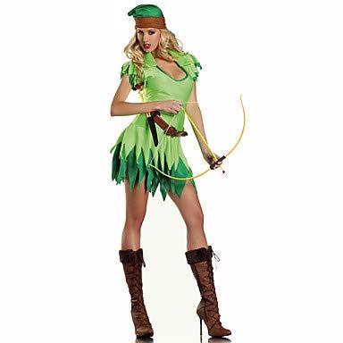 HAOBAO Soldat/Krieger Fest/Feiertage Halloween Kostüme Grün Druck Kleid/KopfbedeckungHalloween/Weihnachten/Karneval/Silvester - Der Winter Soldat Kostüm