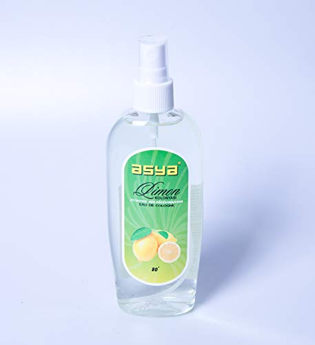 Asya Spray Cologne Lemon 165ml (Limon Kolonyasi 80°)