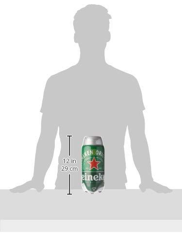 Heineken Cerveza - Caja de 5 TORPS x 2L - Total: 10 L - Consumo preferente 31/01/2019