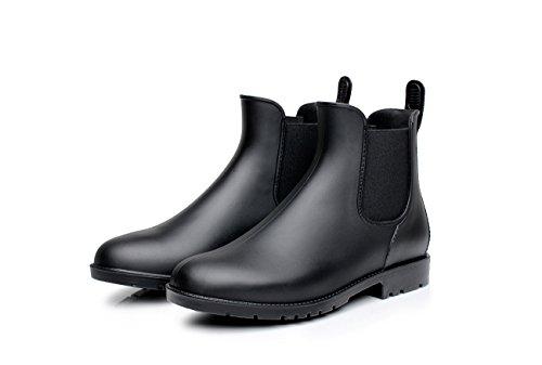 Chelsea Botas de Agua para Mujer Mujer Botas de Lluvia Botas de Agua - Impermeable Zapatos Tobillo Casual...