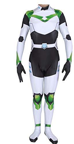 Kostüm Voltron - Learplay Voltron Overall Unisex Jumpsuit Anime Cosplay Outfit Halloween Kostüm