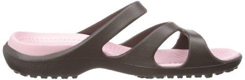 Crocs Meleen, Ballerines femme Marron (Espresso/Petal Pink)