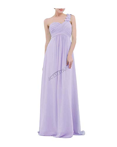 QSAWAL& Women Long Formal Prom Dress Cocktail Party Ball Gown Evening Bridesmaid Dresses #3 Lavender 8