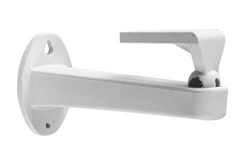 ds-1296zj-h Aluminium Verstellbare Wandhalterung Deckenhalterung 196mm 360° Universal Kamera Halterung Ständer CCTV Sicherheit Zubehör für CCTV CCD Box Körper Dome Bullet Camera Home Surveillance System (1u-wandhalterung)