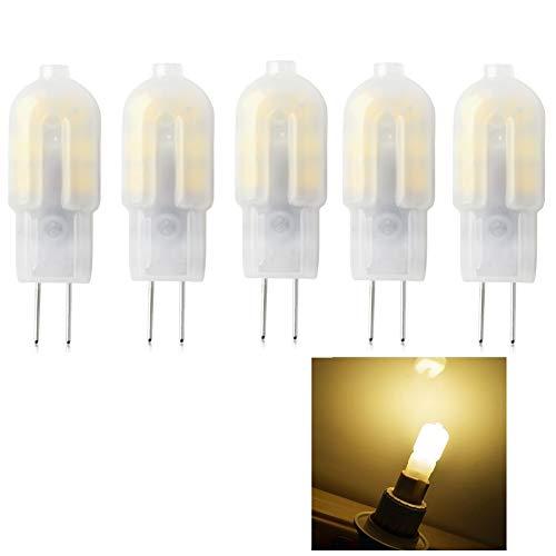 G4 LED Lampe Birne,Bi-Pin Stiftsockel-Lampe 20W Halogenlampen Ersatz,160LM Warmweiß 3000K,DC/AC 12V,globaler 360° Abstrahlwinkel,Nicht-dimmbar,10er-Pack. - 20w G4 Bi-pin