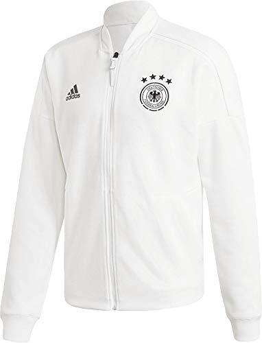 adidas Herren DFB Zone Jacket Knitted Trainingsjacke, White, L