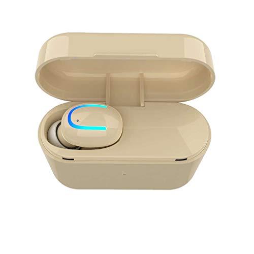 Mengonee HBQ-Q26 Drahtlose Bluetooth 4.2 + EDR Mini einzelnes Ohr-Kopfhörer Earbuds 500mAh Lade Box Headset Edr Bluetooth