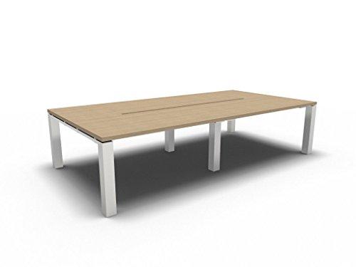 Konferenztisch JET EVO groß, Besprechungstisch, Meetingtisch in verschiedenen Dekoren, Konferenzmöbel