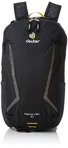 Deuter Race Air Fahrradrucksack, Black, 44 x 26 x 16 cm, 10 L