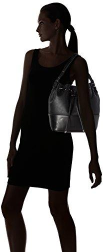 Tosca Blu - Bimaterial, Borse a spalla Donna Nero (Black)