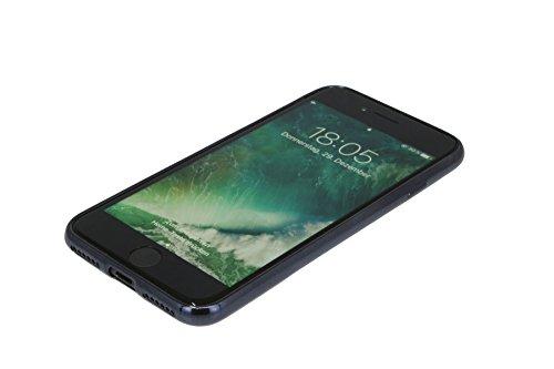MODÈLE LUXURY TPU Bol tout Motifs - chrom, Iphone 7 Noir