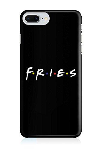 COVER Statement Spruch Quote fries friends Pommes Essen Design Handy Hülle Case 3D-Druck Top-Qualität kratzfest Apple iPhone 6 Plus