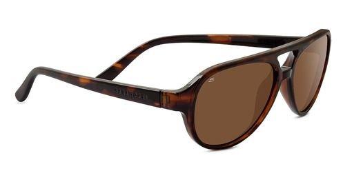 Serengeti Dark Tortoise Giorgio Aviator Sonnenbrille Polarisierte Treiber Objektive 8184