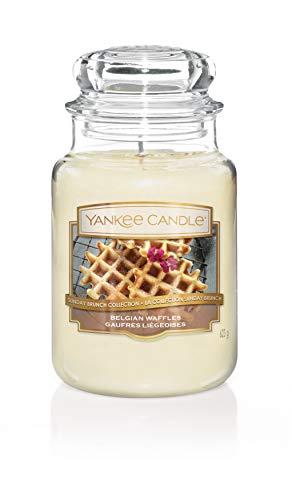 "Sunday Brunch Kollektion der Yankee Candle Kerze im großen Jar, ""Belgian Waffle"""