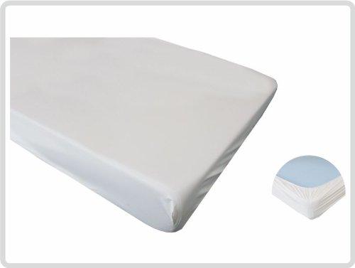 Spannbettschutz Spannbettlaken Matratzenschutzbezug, Spannbettlaken Matratzenschoner PVC wasserundurchlässig wasserdicht 100x200 *Top-Qualität zum Top-Preis*