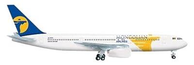 Herpa Miniaturmodelle GmbH Herpa 523905 - MIAT - Mongolian Airlines Boeing 767-300 - JU-1011 von Herpa