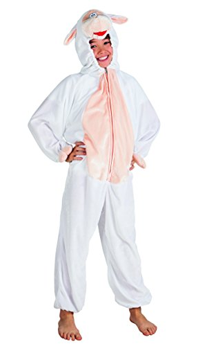 Boland 88253 Kinderkostüm Schaf aus Plüsch, 116 (Schaf Kostüm Make Up)