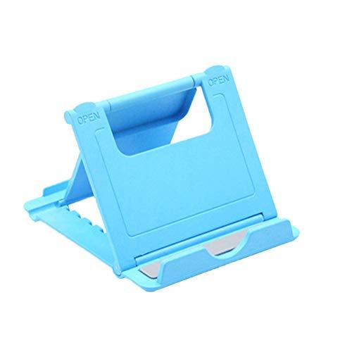 HEMOBLLO Porta cellulare universale Porta telefono Porta telefono Supporto da tavolo multi-angolo per tablet Smartphone e altri dispositivi mobili (blu)