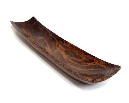 Deko Schale, 51x10x4 cm, Mangoholz, Braun