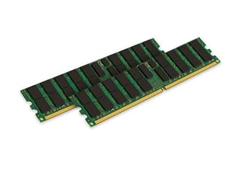 Kingston Technology 8 GB DDR2 400 MHz ECC Registered DIMM Memory Kit (2 x 4 GB)
