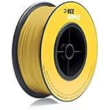 BEEVERYCREATIVE CBA110333 BEESUPPLY PLA Filament für 3D Drucker, 1,75 mm, 330 g, A103, Zinkgelb - gut und günstig