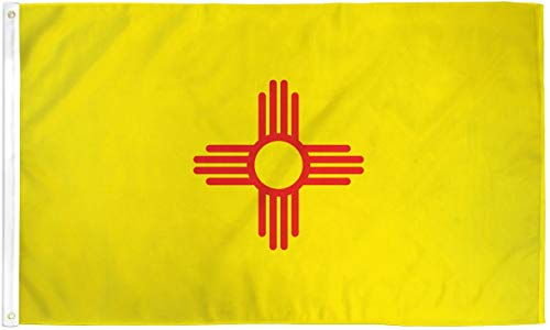 New Mexico State 3 x 5 ft Polyester Flagge -