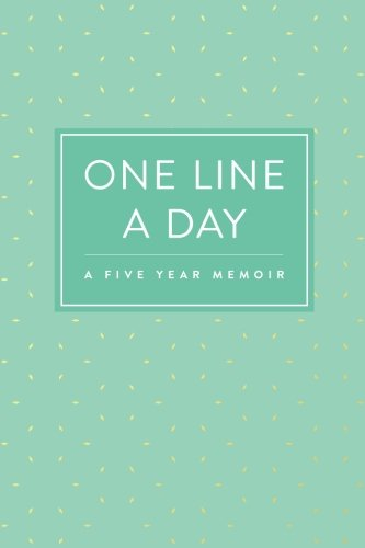 one-line-a-day-journal-a-five-year-memoir-6x9-lined-diary-mint-pattern-journals-notebooks-and-diarie