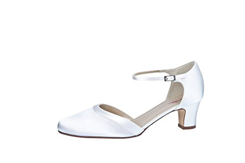 Elsa Coloured Shoes , Hi-Top Slippers femme Bianco (Weiß/White)