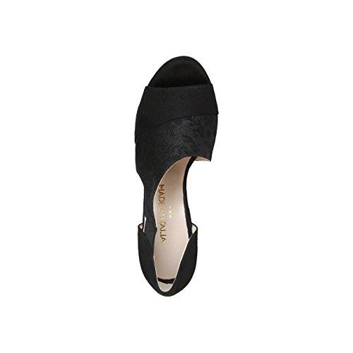 Made In Italia - IOLE Sandali Donna Tacco 11.5 cm Piattaforma 1 cm Nero