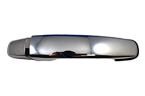 PT Auto Warehouse GM-3373M-RRK - Outside Exterior Outer Door Handle, Chrome - Passenger Side Rear by PT Auto