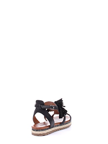 Docksteps DSE103509 Sandale Femme Cuir Noir