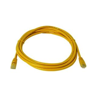 5.0m CAT5E UTP Patch Lead Yellow